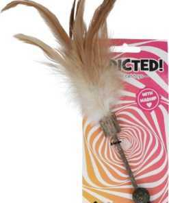 Addicted Stick with balls and feathers
